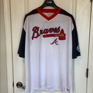 MLB Atlanta Braves Pullover Jersey